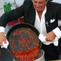 Gianni Russo, Celebrity Chef at the San Gennaro Festival in Los